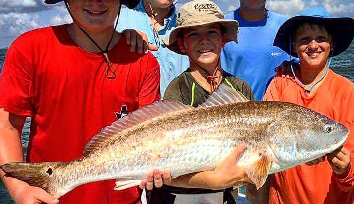 Seasons of Change & Fall Fishing Along the Upper Texas Gulf Coast
