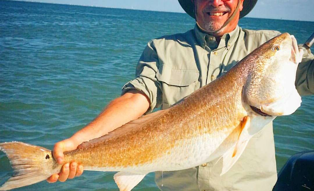 Freeport, Texas Fishing Report – Spawning Red Fish in September