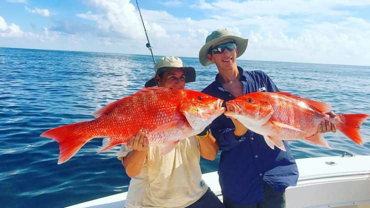 Red Snapper Fishing Charters Freeport Texas