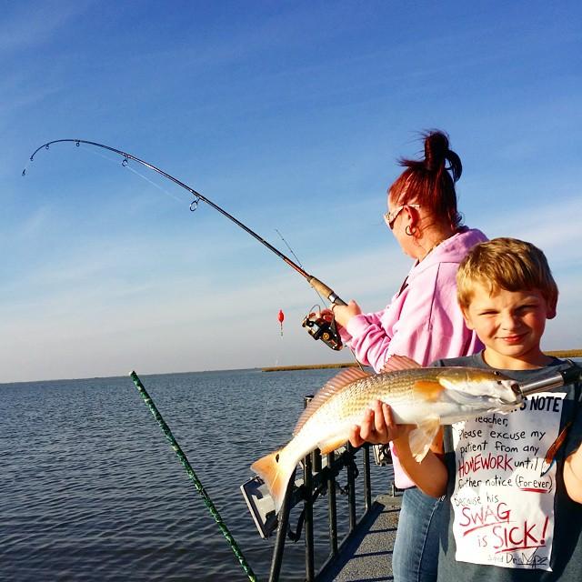Spring Break 2019 Freeport, Texas Fishing